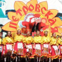 Выступает ансамбль «Душа» - известный кадниковский хореографический коллектив.