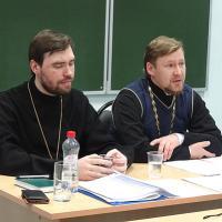 Иерей Алексий Лисенков и иерей Димитрий Ефимовский.