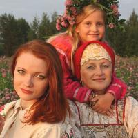 Фото - победитель  в номинации  «Вологодская красота».
