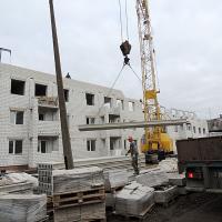 Строительство дома на ул.Свердловской.