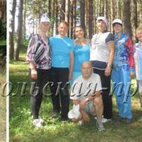 Команда «Сокол-1», Команда «Сокол-2», С.Лощилова передаёт спортивный привет.