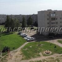 Самые масштабные ремонтные работы в Соколе идут на доме № 64 по ул.Советской.