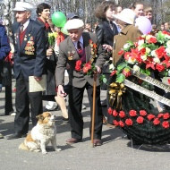 Сокол. День Победы разных лет-6
